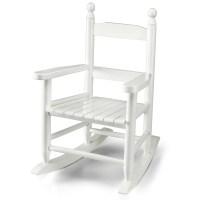 Wooden Rocking Chair for Kids, White | eBay