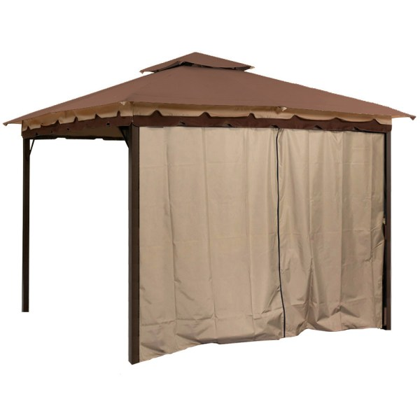 Gazebo Canopy Tent Privacy Side Wall Panel Fits 10' X 12