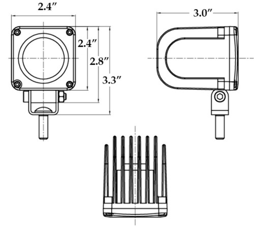 small resolution of photos of led flood light schematic