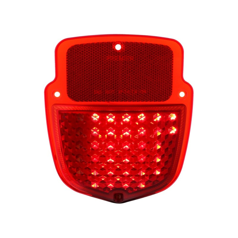 hight resolution of  38 red led sequential tail light 1953 56 ford truck left hand