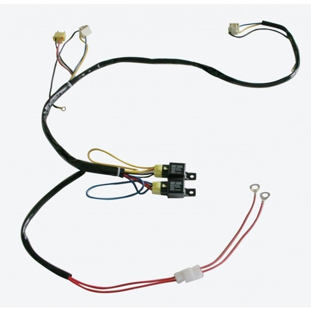 UPI 34264 9005/9006 Headlight Relay Harness Kit Harness