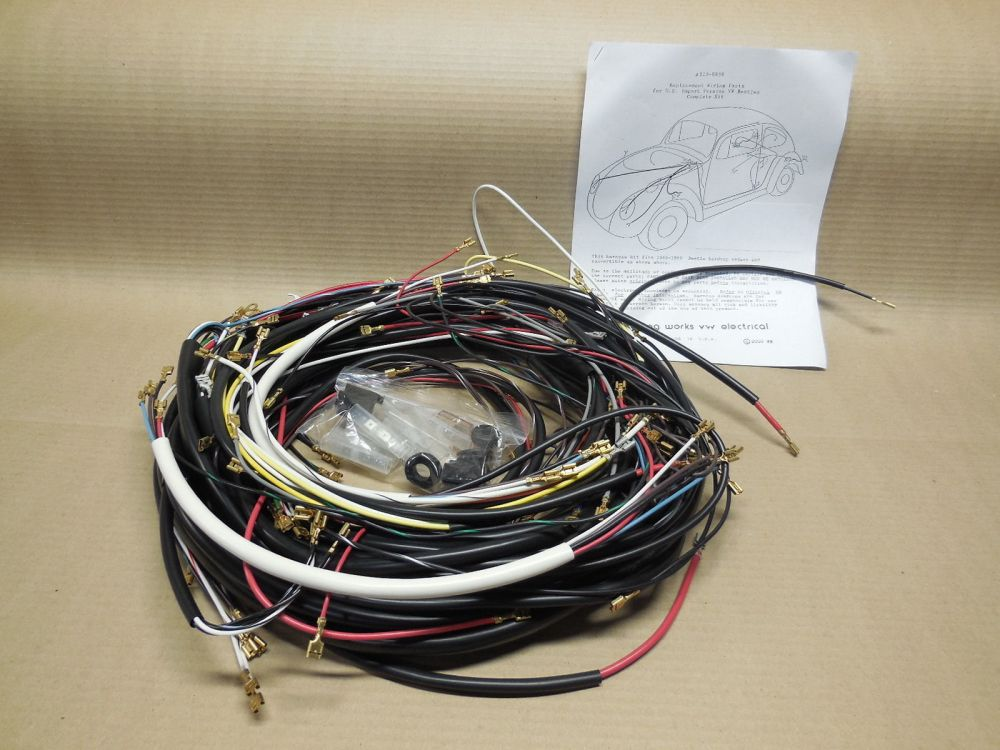 medium resolution of diy wiring harness for vw bugs diagrams online details about vw dune buggy wiring harness finished quotplug and play