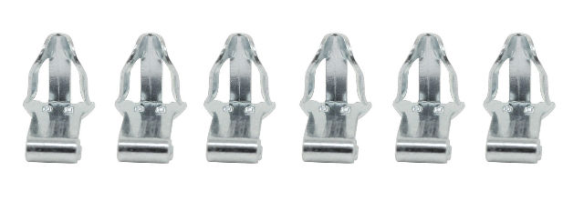 VW Bug Beetle Type 3 Ghia Door Panel Clips, Set of 50 4846