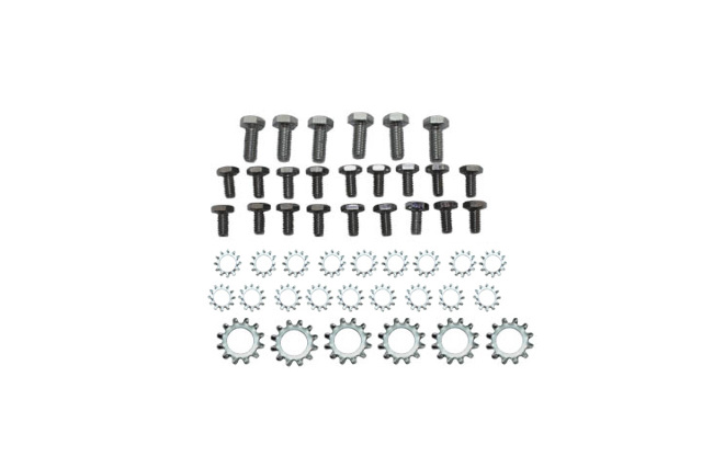 Small Block Ford Chrome Oil Pan & Washer Kit 289 302 351W