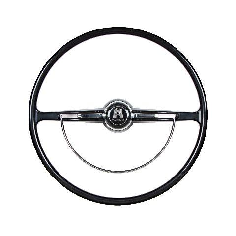 Stock VW Design Replacement BLACK Steering Wheel Kit T-1