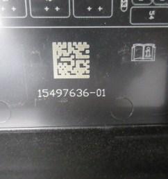 2005 chevrolet corvette c6 1030 engine bay junction fuse box c6 corvette fuse box diagram 2005 [ 2048 x 1536 Pixel ]