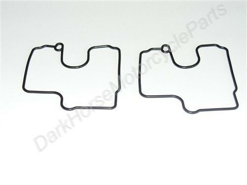 2x Carburetor Carb Float Bowl Gaskets Suzuki SV650 VL800