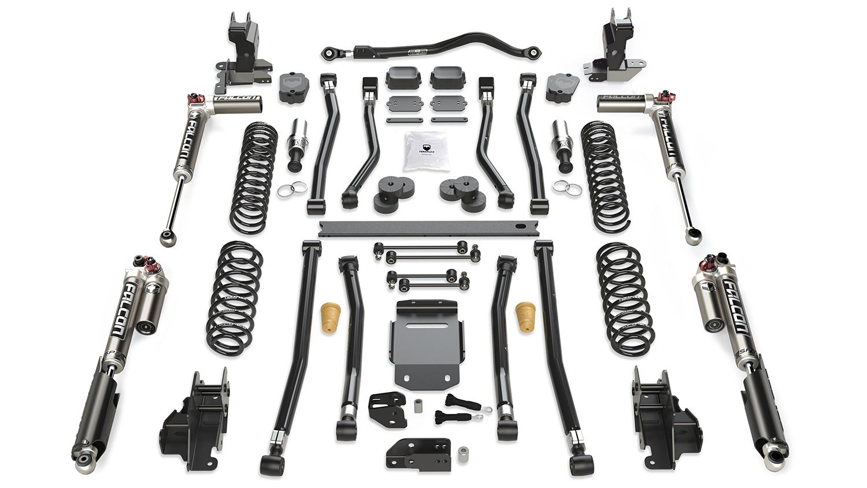 Fits Jeep JL Long Arm Suspension 4.5 Inch Alpine RT4
