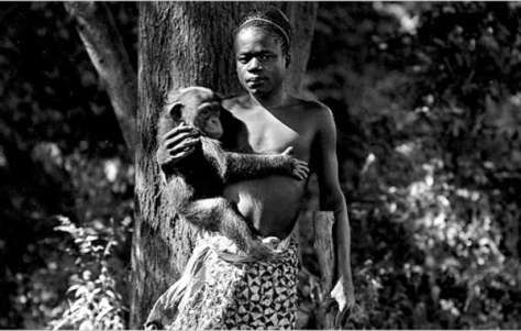 Ota Benga, a Congolese 'Pygmy' man who was transported to the US and exhibited in zoos, before committing suicide in 1916.