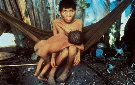 The Yanomami have previously been ravaged by outbreaks of deadly diseases following invasions of their territory by gold miners.