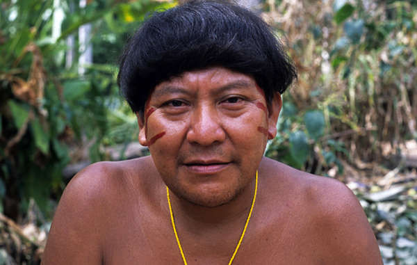 Davi Kopenawa, a spokesman for the Yanomami tribe, calls on Brazil's President to uphold indigenous rights.
