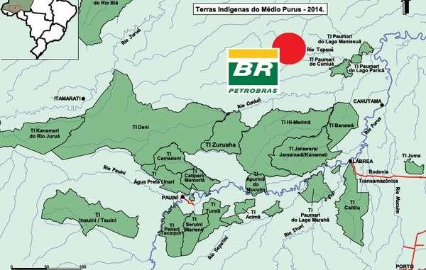 Petrobras a commencé l'exploration pétrolière et gazière dans l'une des régions les plus isolées de l'Amazonie.