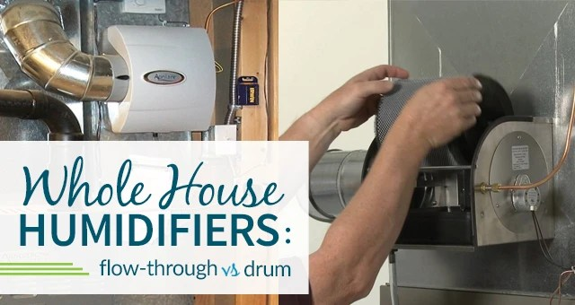 International Wiring Diagram Flow Through Humidifier Vs Drum Humidifier Comparison