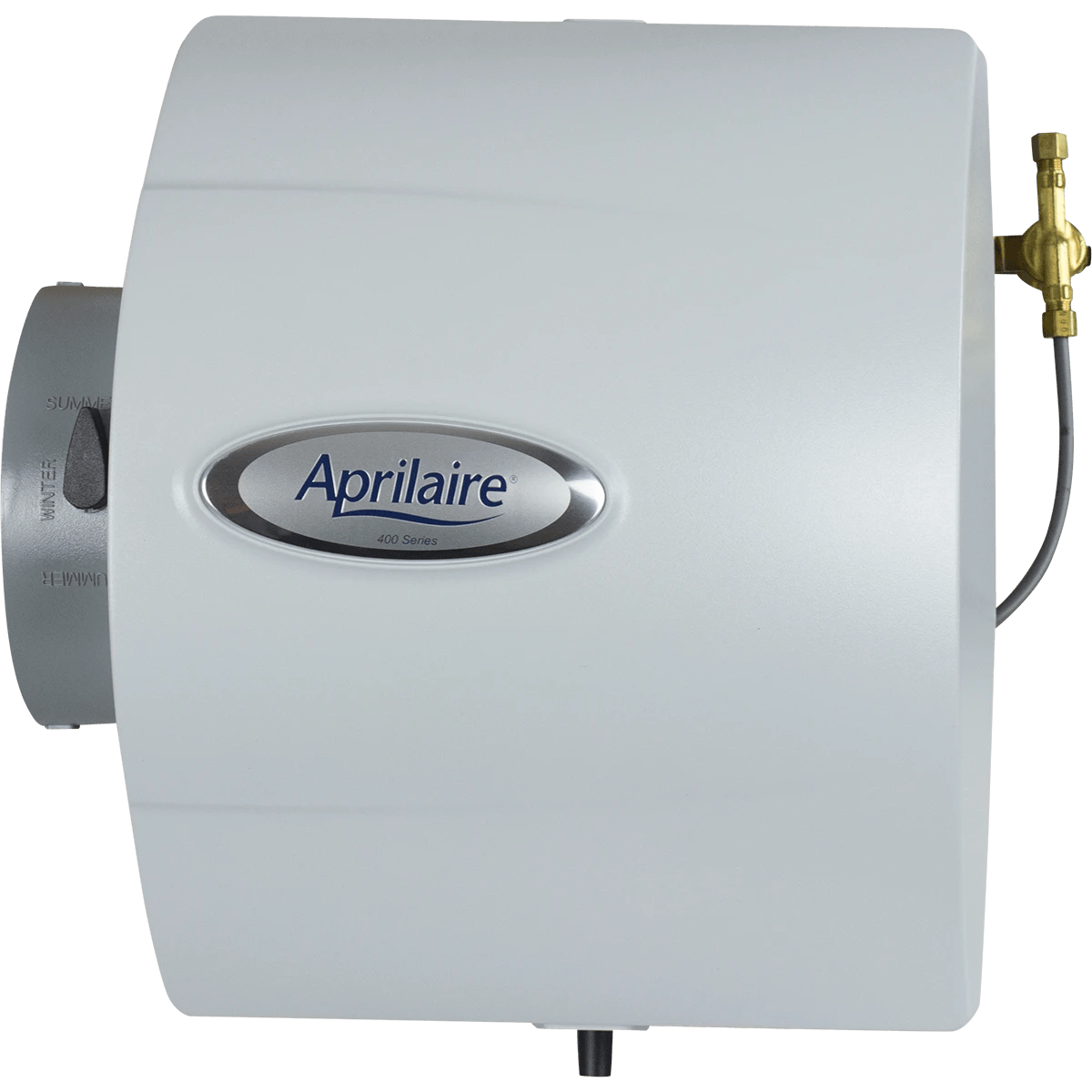 hight resolution of aprilaire model 400 drainless bypass humidifier front