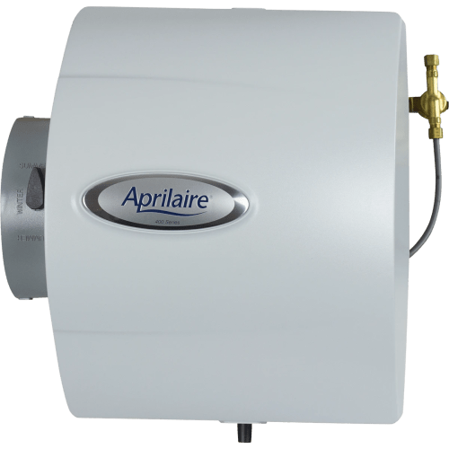 small resolution of aprilaire model 400 drainless bypass humidifier front