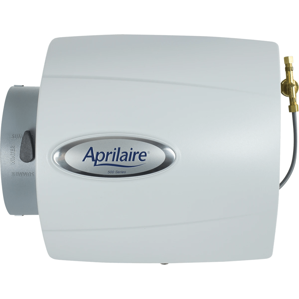 medium resolution of aprilaire model 500 small bypass humidifiers front
