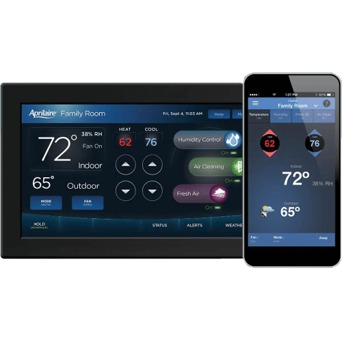 small resolution of aprilaire color touch screen wi fi iaq 8920w thermostat