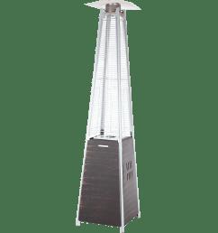 fire sense coronado pyramid flame patio heater [ 1200 x 1200 Pixel ]