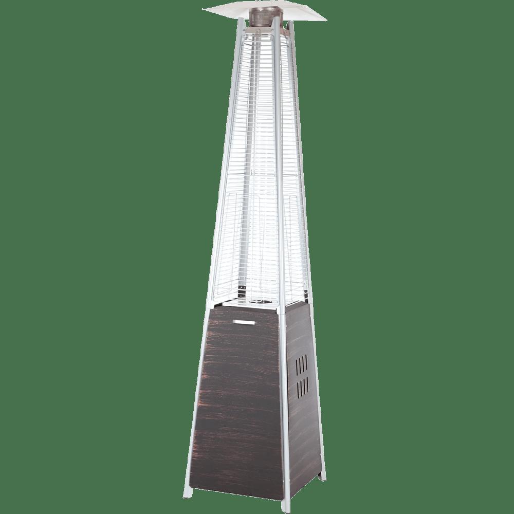 medium resolution of fire sense coronado pyramid flame patio heater