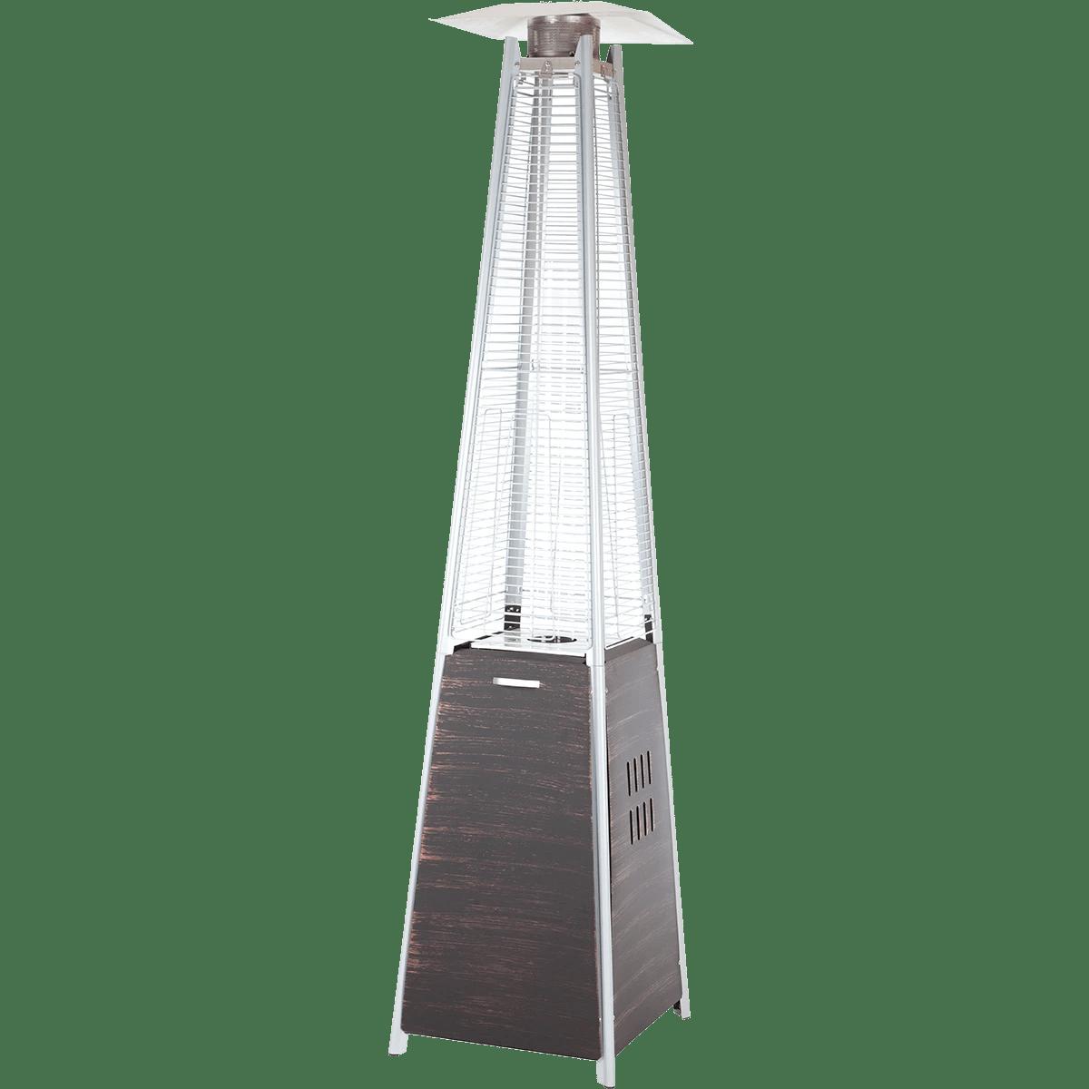 hight resolution of fire sense coronado pyramid flame patio heater