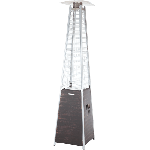 small resolution of fire sense coronado pyramid flame patio heater