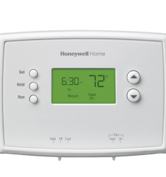 honeywell rth2300b1012 5 2 day programmable thermostat [ 1000 x 1000 Pixel ]