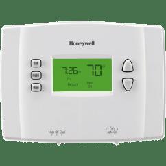 Honeywell Thermostat Rth221b1000 Wiring Diagram Minn Kota Deckhand 40 ~ Elsavadorla