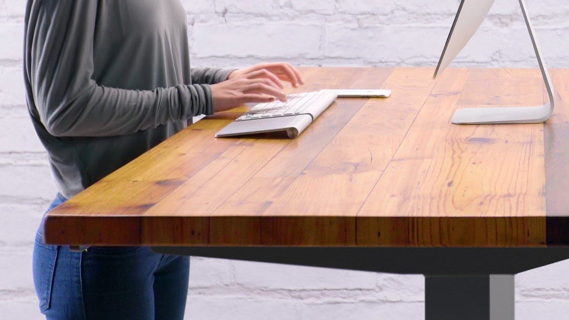 Höhenverstellbare Schreibtische 7 Steher fürs Büro ...