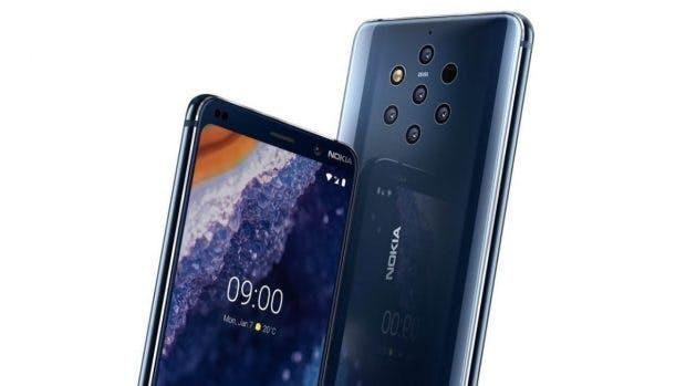 Nokia 9 Pureview. (Image: HMD Global)