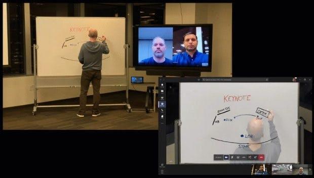 Microsoft Team Whiteboard