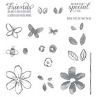 Garden In Bloom Photopolymer Stamp Set