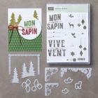 Cantiques De Noel Clear-Mount Bundle (French)