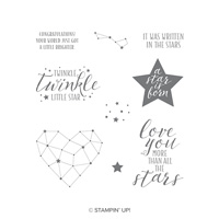 Little Twinkle Wood-Mount Stamp Set