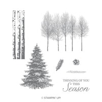 Winter Woods Clear-Mount Stamp Set