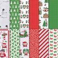 "Santa's Workshop 12"" X 12"" (30.5 X 30.5 Cm) Specialty Designer Series Paper"