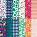 "Happiness Blooms 12"" X 12"" (30.5 X 30.5 Cm) Designer Series Paper"