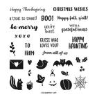 Banner Year Photopolymer Stamp Set (English)