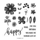 Pretty Perennials Photopolymer Stamp Set