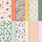 "Pansy Petals 12"" X 12"" (30.5 X 30.5 Cm) Designer Series Paper"