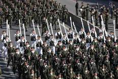 Οι εκδηλώσεις για τα 69 χρόνια από την επέτειο του «ΟΧΙ » κορυφώνονται με τη στρατιωτική παρέλαση, η οποία πραγματοποιείται σήμερα  στη λεωφόρο Μεγάλου Αλεξάνδρου στη Θεσσαλονίκη