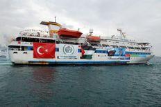 το πλοιο της ειρηνης αιματοκυλιστηκε απο του Σιωνιστες