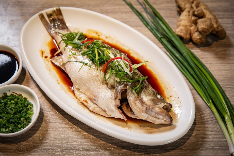 Image result for steamed fish