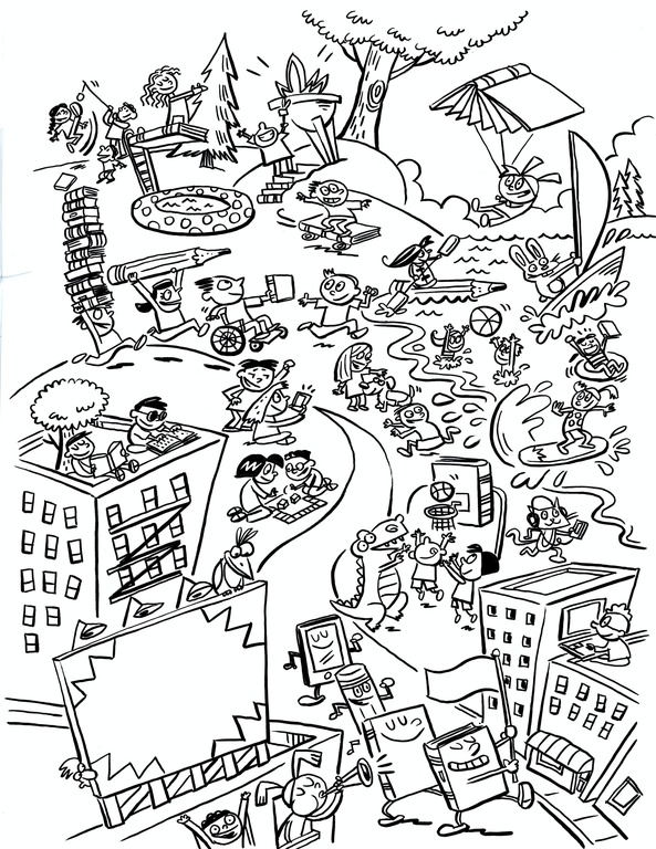 Colouring Sheets Stuff To Do Td Summer Reading Club