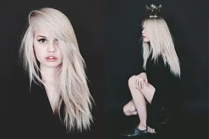 debby ryan gave us the scoop on why she went platinum blonde and why she loves it teen vogue