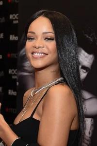 Rihanna's Brown Hair | Celebrity Hair Colors 2014 | Teen Vogue
