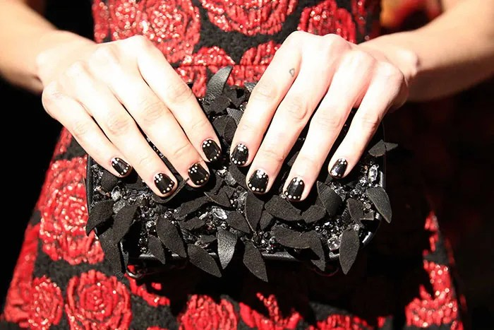 For Those Who Know A Thing Or Two About Nail Art The Half Moon