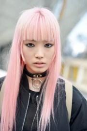 pastel hair dye tips