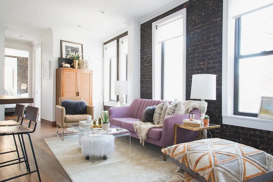 Moving Into New York City Apartment Decorating Small