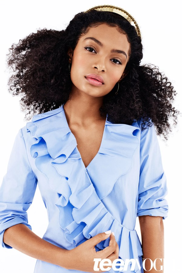 Ways Style Natural Hair - Black-ish Star Yara Shahidi Teen Vogue