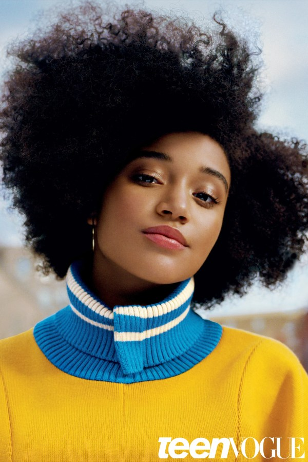 Amandla Stenberg Teen Vogue